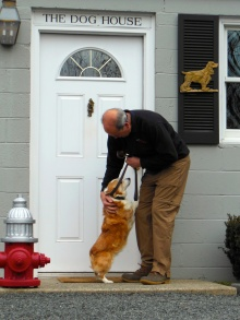 All of our four-legged friends are warmly welcomed!